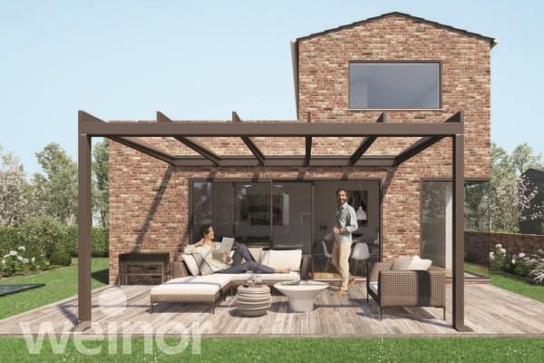 Pour transformer votre espace bioclimatique en oasis de verre - Weinor