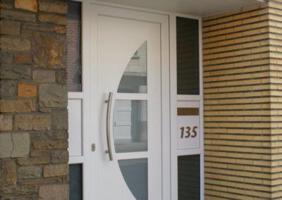Porte en PVC - Blanche