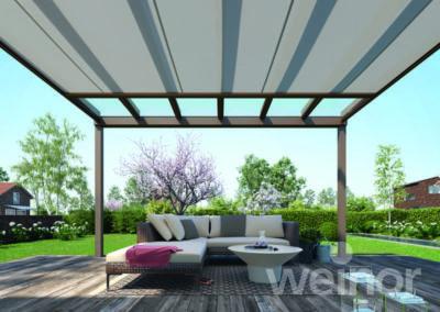 Espace bioclimatique - couverture de terrasse Weinor