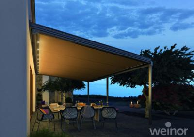 Store de véranda extérieur - Weinor