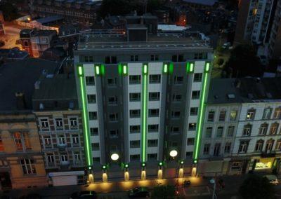 Fenêtres en alu - CSC à Liège