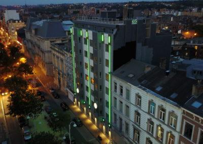 Fenêtres aluminium - CSC à Liège