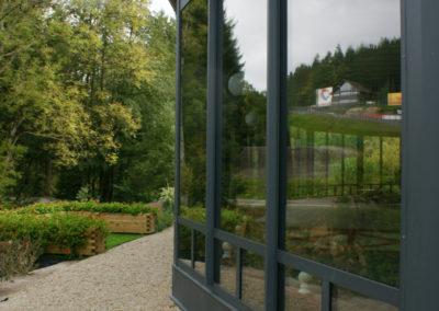 Fenêtre aluminium - Eau rouge - Francorchamps
