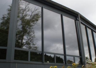 Fenêtre alu - Eau rouge - Francorchamps